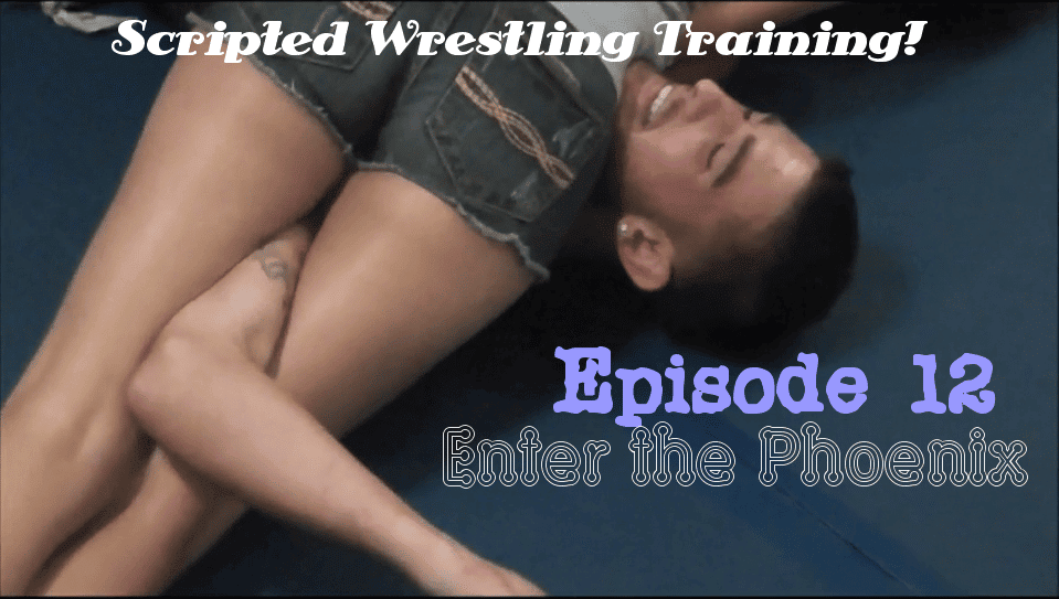 "#12 - ""Haley Trains!"" - Haley Davidson vs The Phoenix - Women's Wrestling Training"