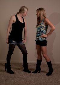 #1 - Monroe Jamison vs Savannah Scissors - (REAL) - 2012