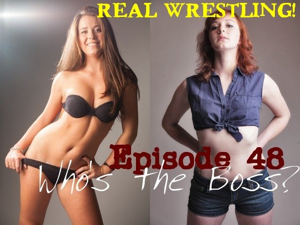 Catalina Boss vs Scarlett Squeeze - Who's the Boss? - Real Competitive Women's Wrestling