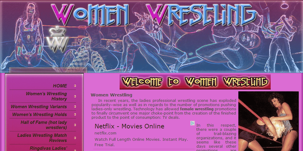 Women-Wrestling.org – All about Women's Wrestling
