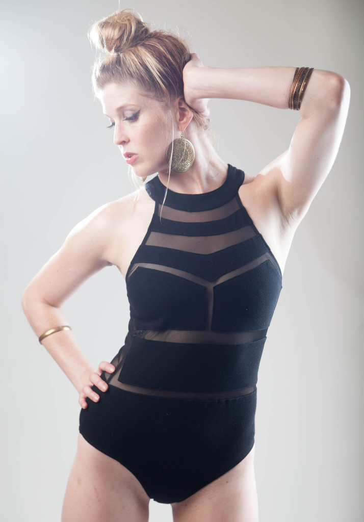 """Back in Black"" - Monroe Jamison - Women Wrestling Photos"