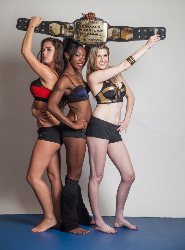 """The Contenders"" - Foxy Rain, Monroe Jamison, and Scarlett Squeeze - Womens Wrestling Photos"