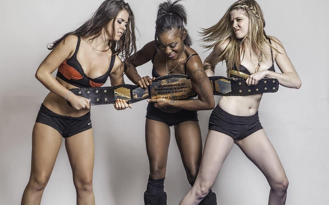 Female Wrestler Photoset (#13) – The Contenders – w/ Foxy Rain, Monroe Jamison, and Scarlett Squeeze