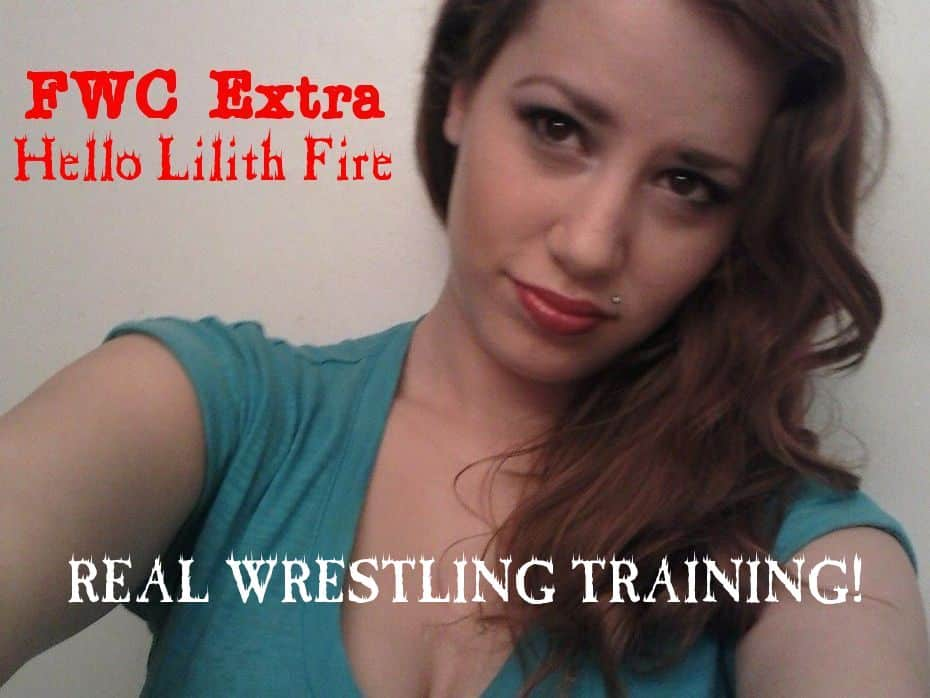 Introducing Lilith Fire - Women's Wrestling Training - 2015