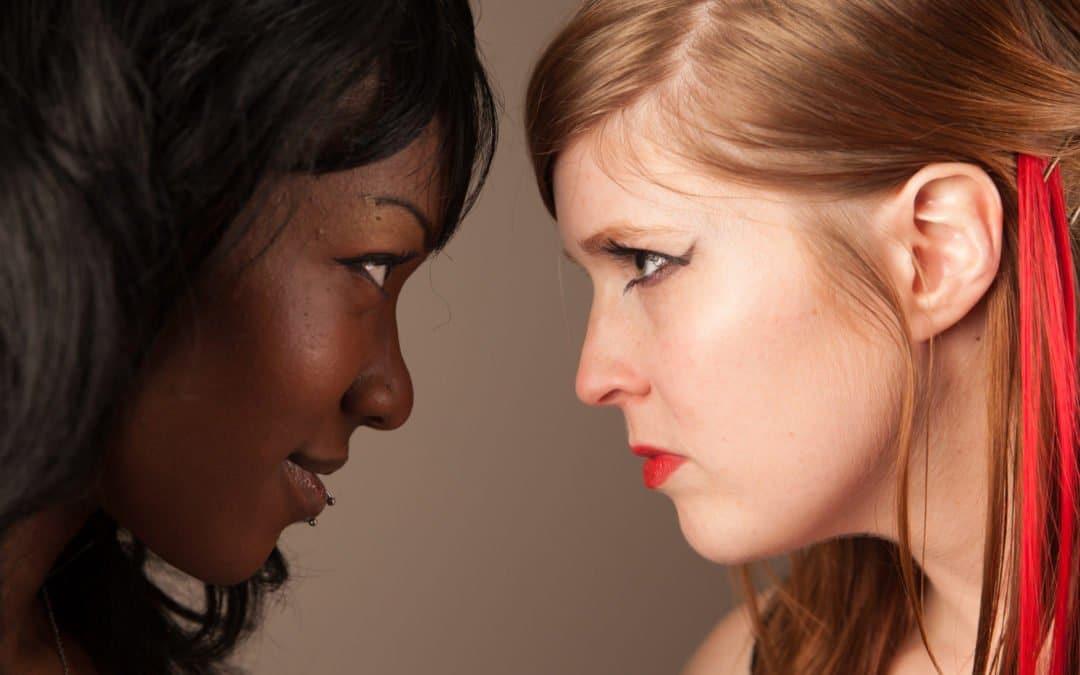Female Wrestling Photoset (#17) – Rivals – Foxy Rain and Monroe Jamison