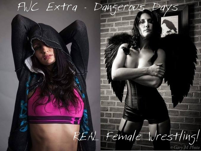 Jayde Jamison vs Raven Swift - Real and Competitive Women's Wrestling - 2016