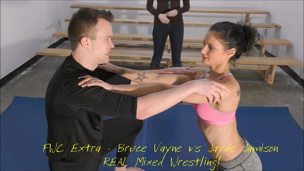 FWC Extra – Bruce Vayne vs Jayde Jamison – REAL MIXED WRESTLING