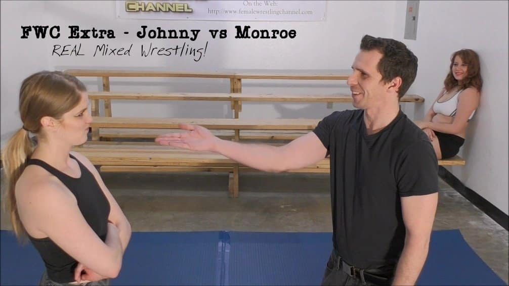 FWC Extra – Johnny vs Monroe – REAL MIXED WRESTLING!