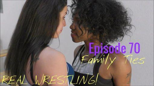 #70 - Family Ties - Bambi Baylee vs Carmella Ringo - (REAL) -2016 - Cover Photo