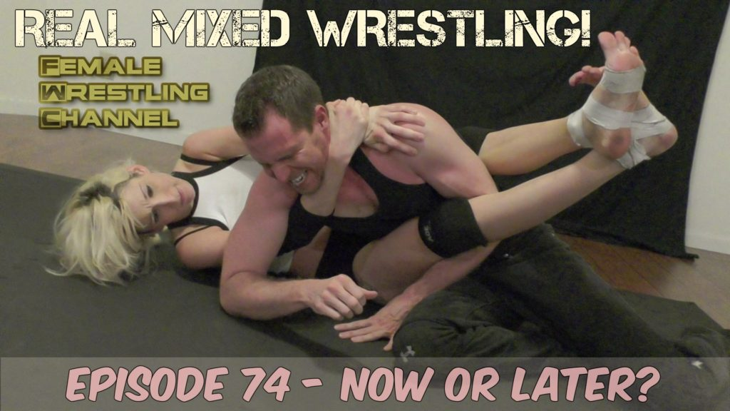 #74 - Now or Later - Johnny Ringo vs Lizzy Lizz - Male vs Female Wrestling!