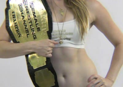 Monroe Jamison - Female Wrestling Channel Competitive Champion