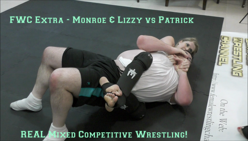 FWC Extra – Monroe Jamison and Lizzy Lizz vs Patrick – REAL Competitive Mixed Wrestling!