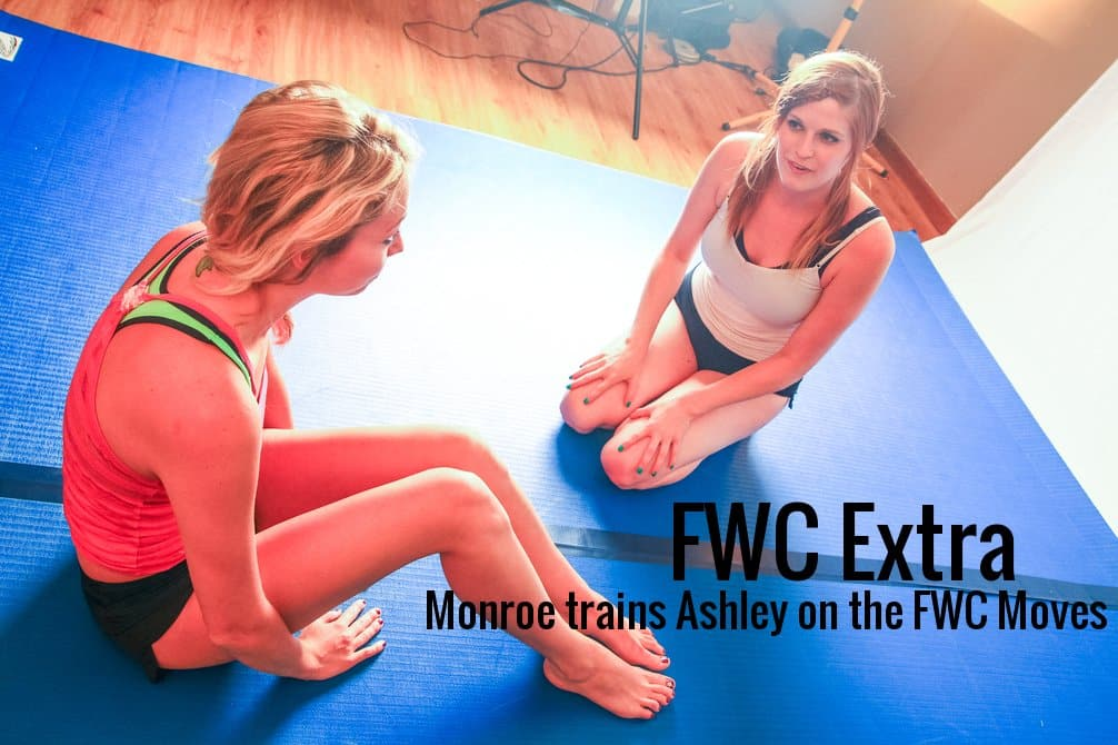 FWC EXTRA:   Monroe Jamison trains Ashley Wildcat on FWC Competitive Wrestling moves