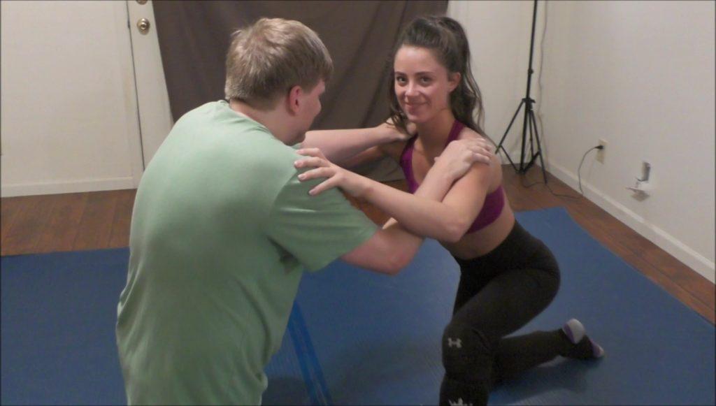 Monroe Jamison vs Scarlett Squeeze vs Rick - Mixed Wrestling - 2017