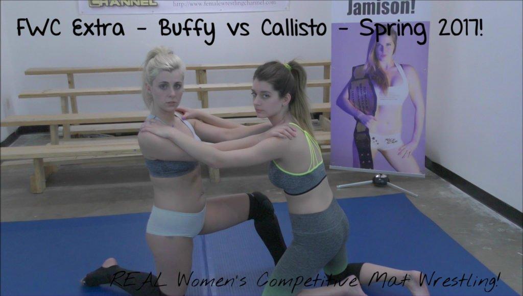 Buffy Ellington vs Callisto Strike - Women Wrestling - #2 - 2017