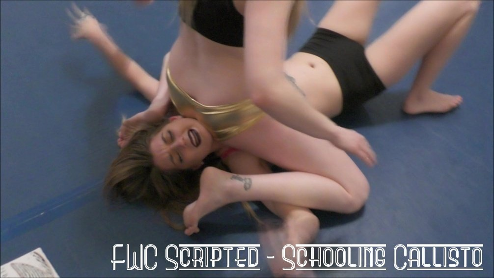 Reverse Schoolgirl Pin and Schoolgirl Pin Training - Schooling Callisto - Scripted AND Competitive Wrestling - 2017