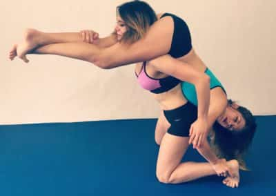 Headscissors - Don't Confuse Beauty with Weakness - Female Wrestling Images - Callisto Strike and Sooki Smackhouse - 2017