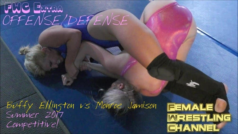 (O/D) - Buffy Ellington vs Monroe Jamison - 2017