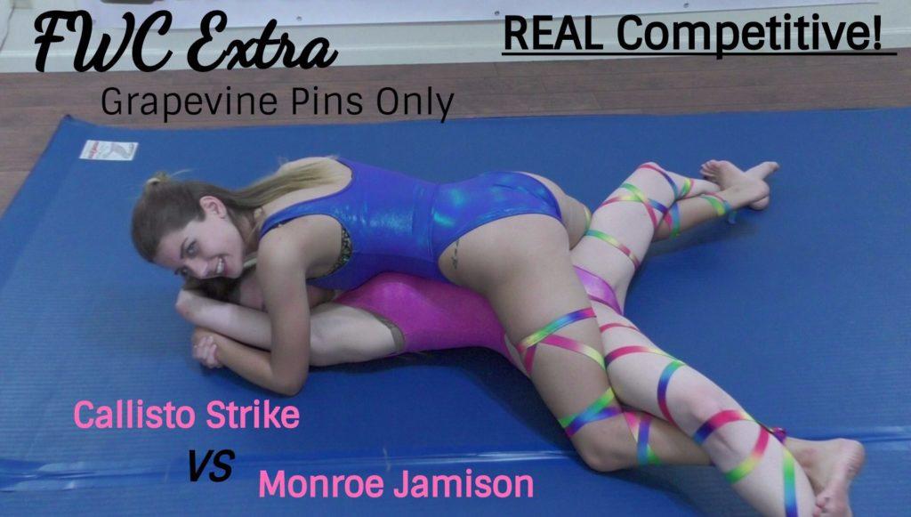 Grapevine Pin Wrestling - Callisto Strike vs Monroe Jamison - 2017