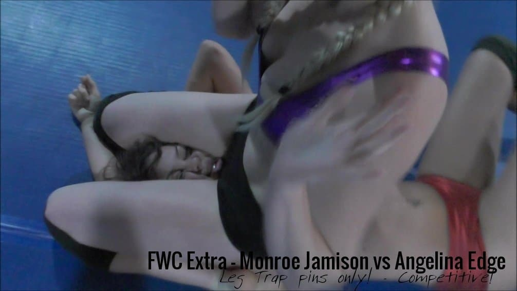 Angelina Edge vs Monroe Jamison - Schoolgirl Pins Only - (REAL) - 2017