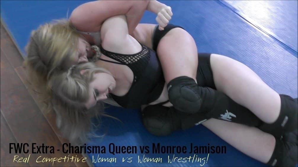 Bodyscissors - Charisma Queen vs Monroe Jamison - Competitive Women's Wrestling! - 2018