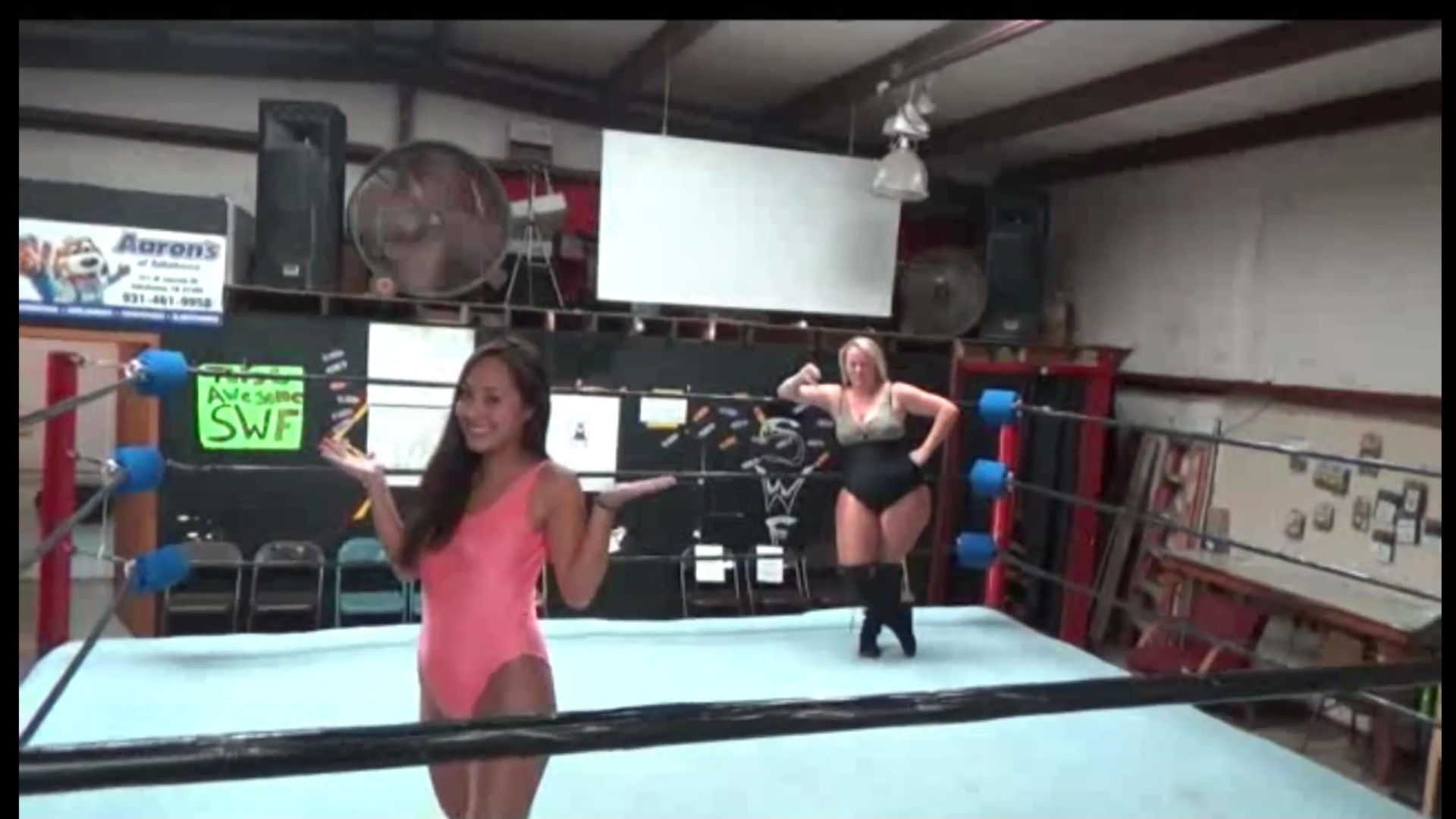 Malibu vs Sumiko - Big vs Small - Women's Pro Wrestling - UWW