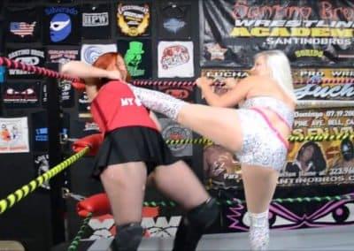 Heather Monroe vs Jessie Belle - Women's Pro Wrestling!