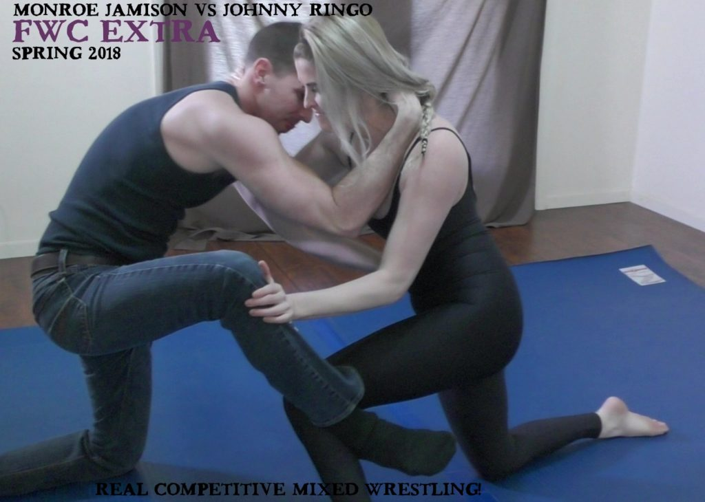 Johnny Ringo vs Monroe Jamison - Competitive Mixed Wrestling - 2018