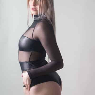 Back in Black - Monroe Jamison - Women Wrestling Photos