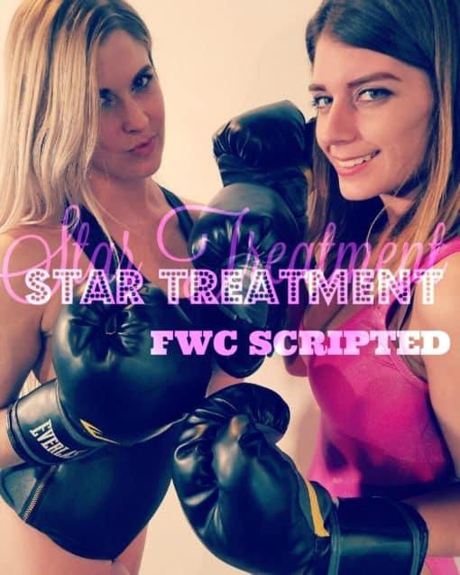 Female Fighting - Star Treatment - Monroe vs Callisto - 2018