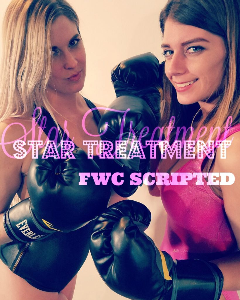 """Star Treatment"" - Callisto Strike vs Monroe Jamison - Scripted Female Wrestling"