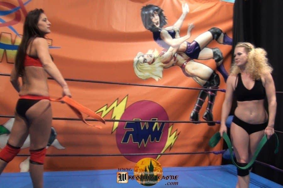 Sesil vs Viper - Russian Women Wrestling - (REAL)