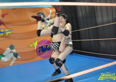 Anarchy and Lilu vs Gotika - Women's Pro Wrestling - Rumble Matreshka
