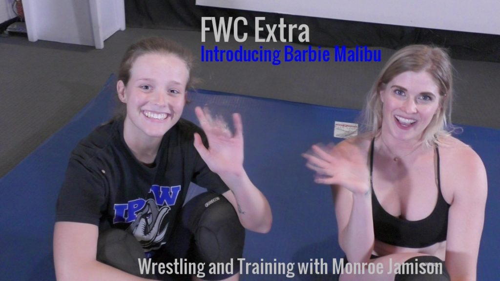 Introducing Barbie Malibu - Female Wrestling Training - 2018