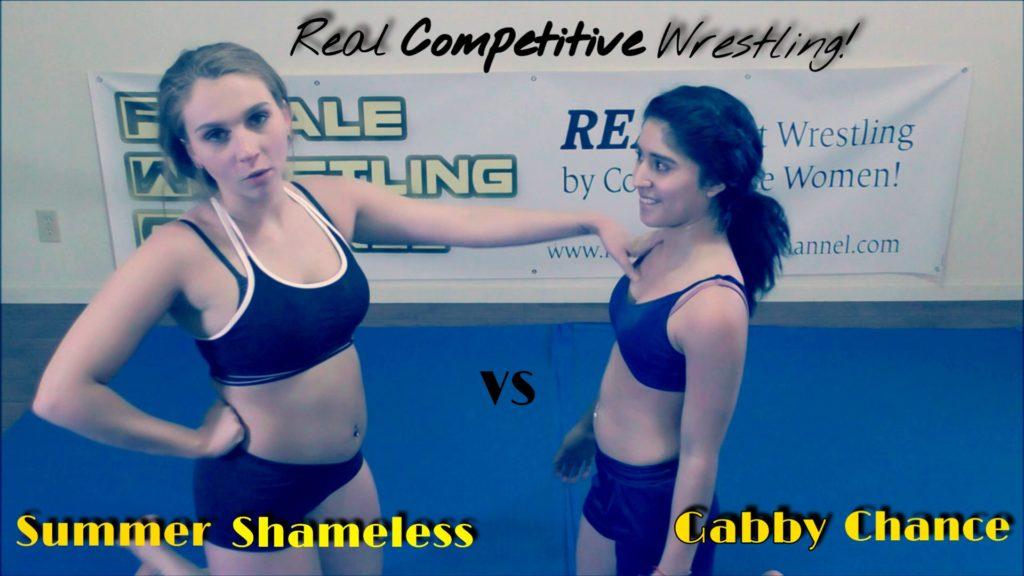 Gabby Chance vs Summer Shameless - REAL Women's Wrestling - 2018