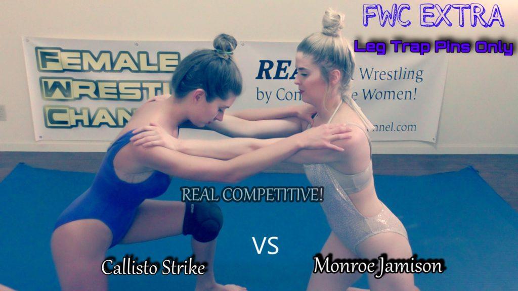 Callisto Strike vs Monroe Jamison - Schoolgirl Pins - REAL Women's Wrestling!