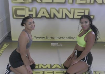 Mya Tigress and Mylina Tigress - Introducing the Tigress Sisters