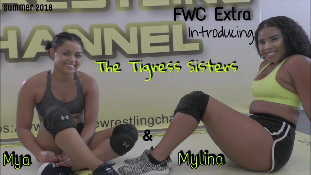 Introducing the Tigress Sisters - Mya and Mylina Tigress - Wrestling Training - 2018