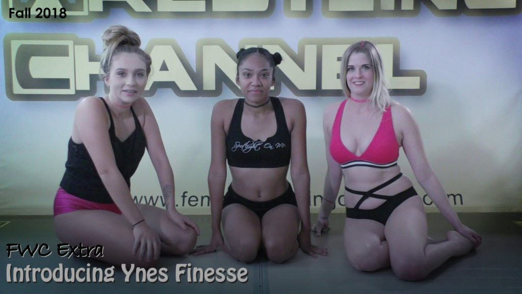 Introducing Ynes Finesse - Woman Wrestling Training - 2018