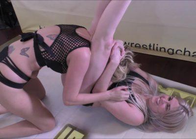 Headscissor - Monroe Jamison vs Sunny Vixen - (REAL) - 2018