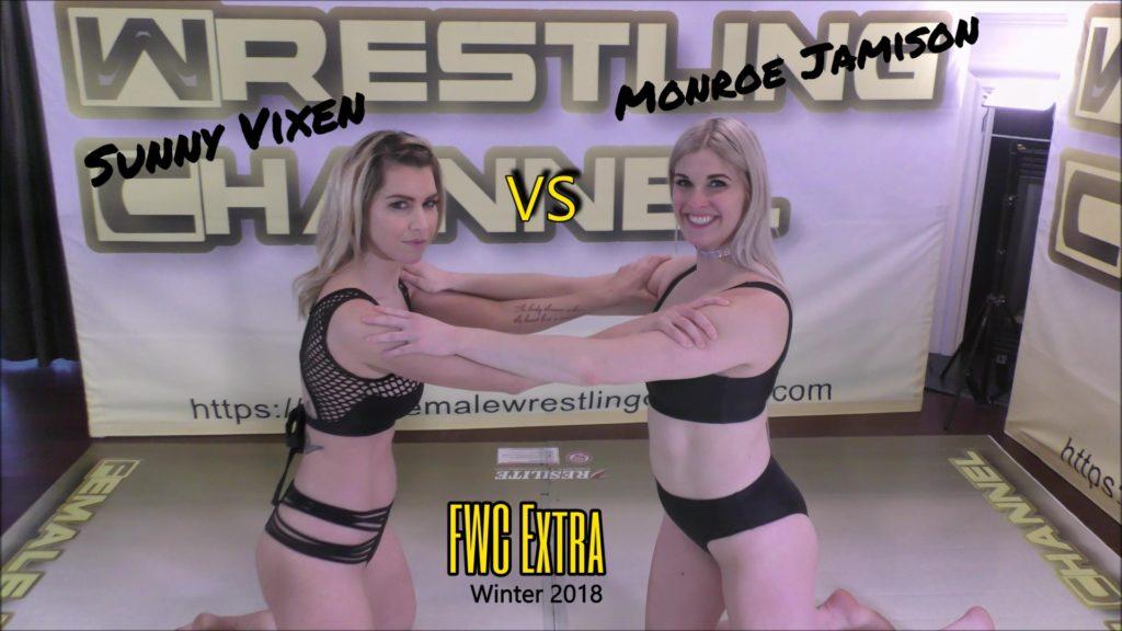 Monroe Jamison vs Sunny Vixen - Competitive Women's Wrestling - 2018