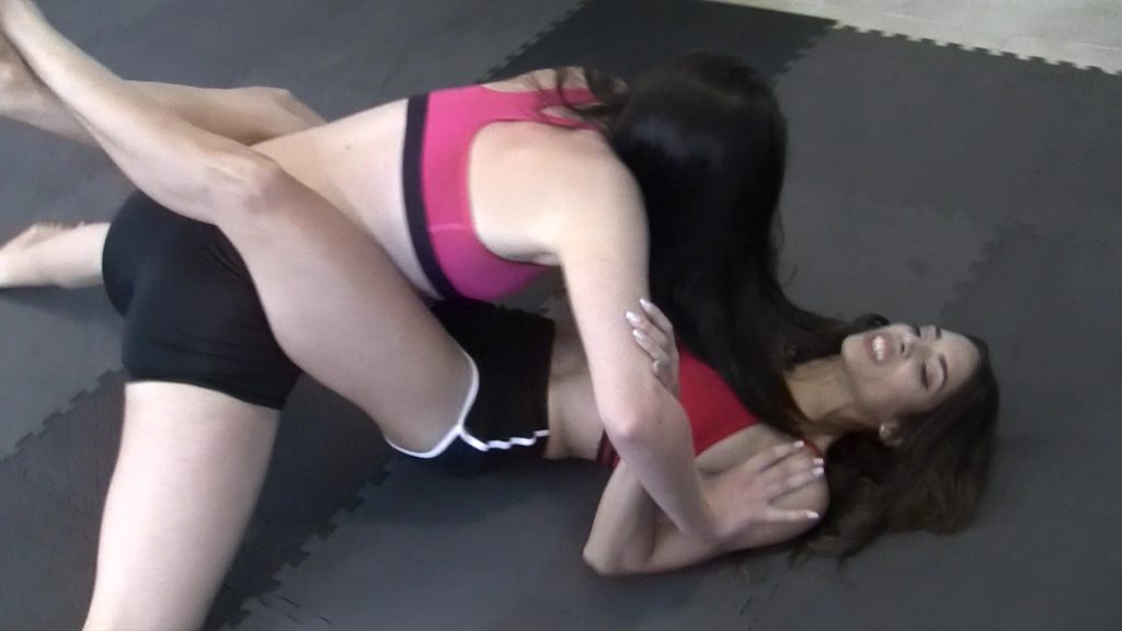 Bodyscissors - Britney vs Eden Sins - Baefight - Real Wrestling! - 2018