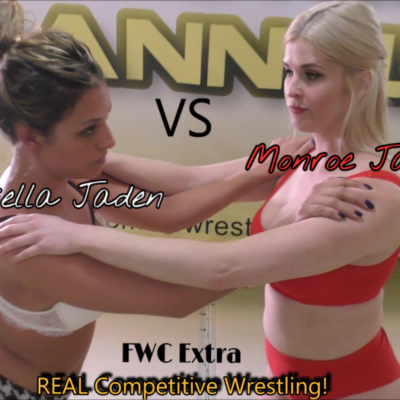 Briella Jaden vs Monroe Jamison - #1 - Real Women's Wrestling - 2019