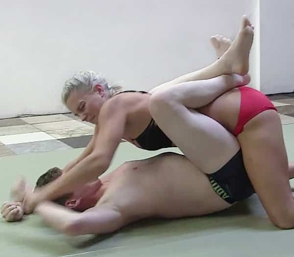 Hanz vs Taylor - Mixed Competitive Wrestling
