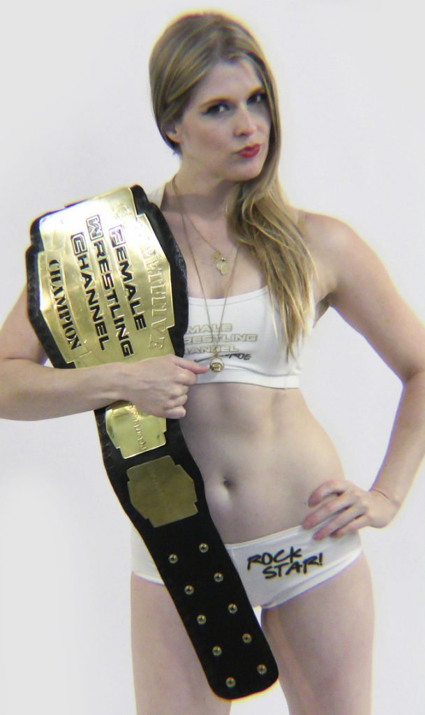 """The First Female Wrestling Channel Champion"" - Monroe Jamison"