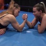 Pallada vs Valkyr - Russian Women Wrestling