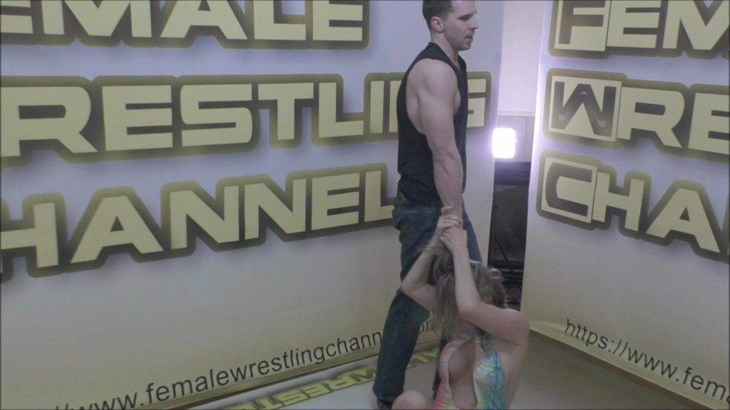 Kings and Queens - #1 - Johnny Ringo vs Sunny Vixen - Scripted Women's Wrestling!