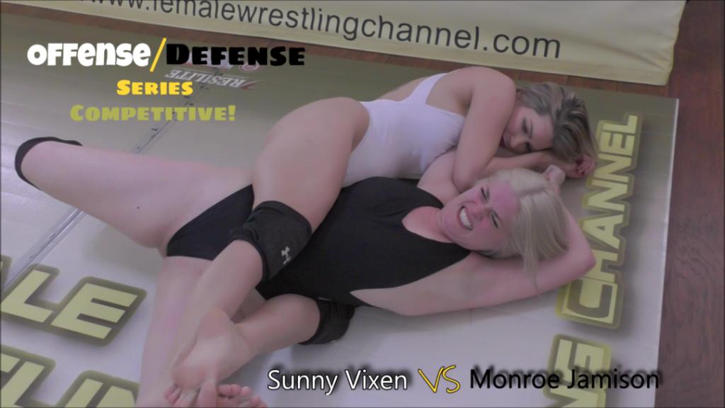 OFFENSE/DEFENSE - Monroe Jamison vs Sunny Vixen - Wrestling - 2019