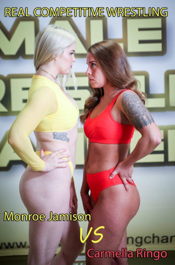Carmella Ringo vs Monroe Jamison - (REAL) - Women's Wrestling - 2019