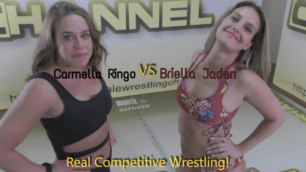 Briella Jaden vs Carmella Ringo - Competitive Women Wrestling - 2019